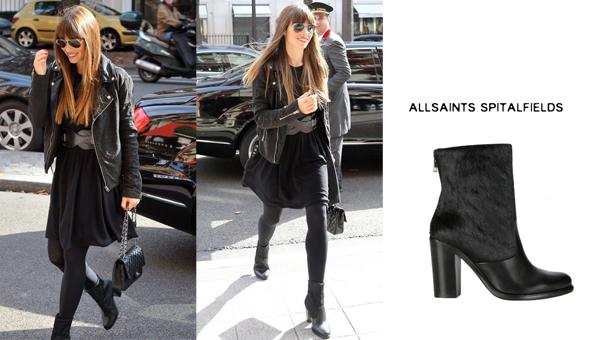 Jessica Biel In Allsaints Boots Bitchstolemylook Pretty